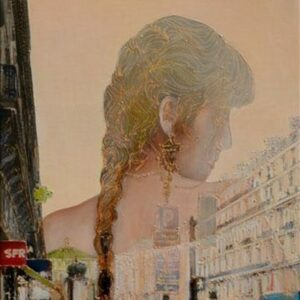 AVENUE OPERA, oil on canvas, 89 x 40 cm, 2011.