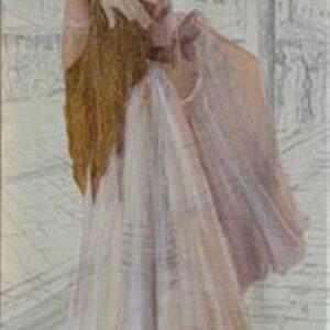 ALORS MUSIQUE, 2008, oil on canvas, 91x42 cm