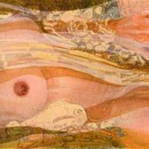 IN WATER 01, 2007, oil on canvas (or gicleé), 42x91 cm