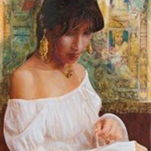 NATURAL LIGHT, 2008, oil on canvas, 91 x 42 cm