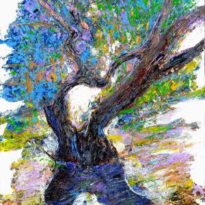 OLIVE_MORNING_58x40 cm_acrylic_2020.