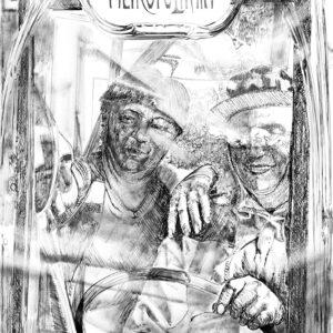 COUPE-BOIS METROPOLITAIN, drawing, 140x100 cm, 2020.